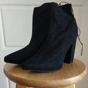 Forever 21 faux suede booties